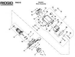 250_R4510FigI_schematic ridgid r4510 i parts ridgid r4510 wiring diagram at mifinder.co