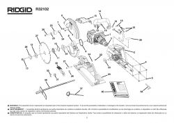 R32102 - Worm Drive Circular Saw Parts schematic