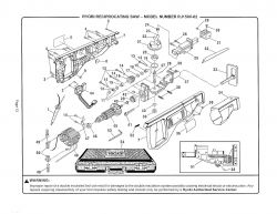 RJ150V-02 - Reciprocating Saw Parts schematic