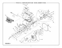 TS1343L - Miter Saw Parts schematic