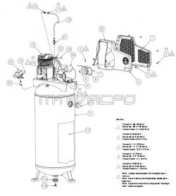 atlas copco compressor wiring diagram  atlas  wiring