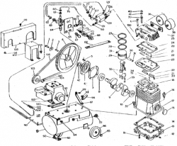 104BG5-22 - Air Compressor Parts schematic