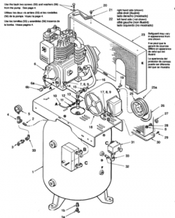 C5280VORH, 05Z080H2C1 - Air Compressor Parts schematic