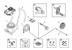 020486, 020486-00 - Pressure Washer Parts schematic