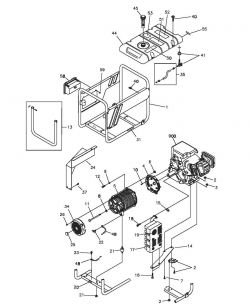 030429, 30429 - Generator Main Unit Parts schematic
