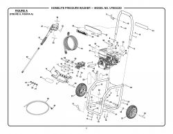 UT80522D - Pressure Washer Parts schematic