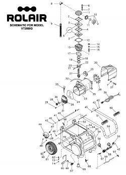 VT25BIG - Air Compressor Parts schematic