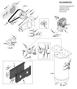 husky vt6314 vt6314hdrb air compressor parts husky parts rh mastertoolrepair com  husky 60 gallon air compressor wiring diagram