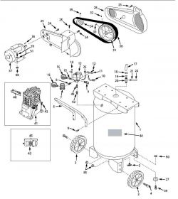 VT631503, VT631503AJ, EX800801, VT631900, VT559505, VT6 - Air Compressor Parts schematic