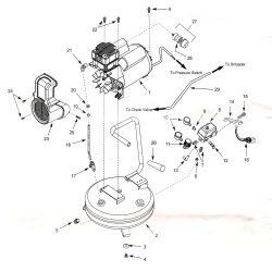 5F222G - Air Compressor Parts schematic