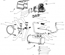 921.153620 - Portable Air Compressor Parts schematic