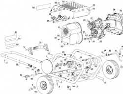 D55146, 155839 - Air Compressor Parts schematic