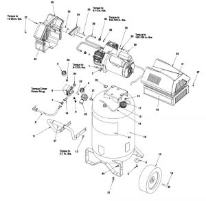 Portable Oil-Free Electric Air Compressor Parts - 919.167770