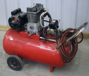Portable Single Stage Electric Air Compressor Parts - 919.176941