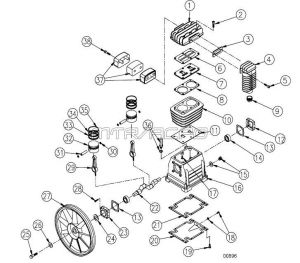 Air Compressor Pump Parts - ABB3800, 779101