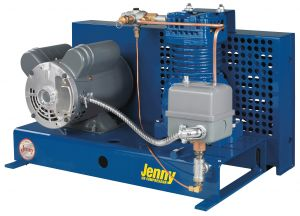 Jenny Base-Mounted Fire Sprinkler Air Compressor Parts