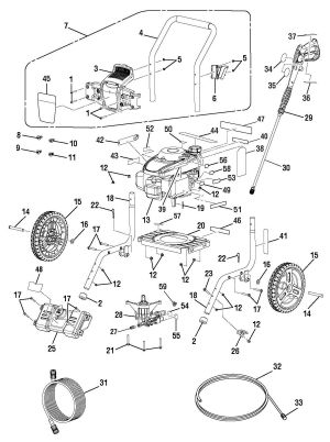 Pressure Washer Parts - PS262311