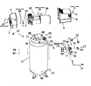 Stationary Oil-Free Electric Air Compressor Parts - 919.152830